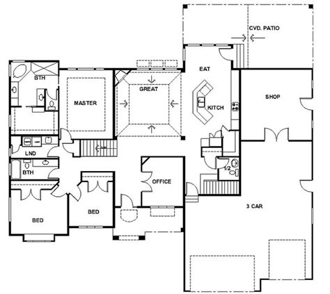 Rambling Ranch House Plans by Rambler House Plans With Basements Panowa Home Plan
