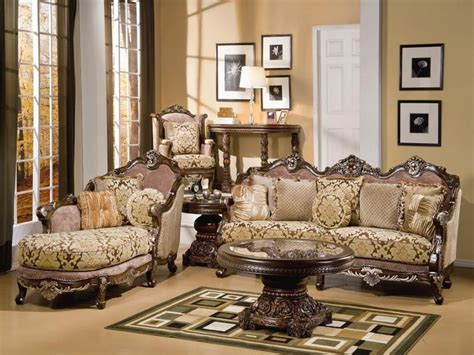 charming brown wooden carving luxury sofa lounge and