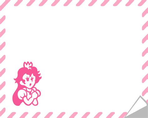 princess letter template princess toadstool stationary by likelikes on deviantart