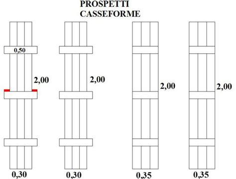 Colonne In Cemento Armato by Realizzare Le Casseforme Di Pilastri In Cemento Armato
