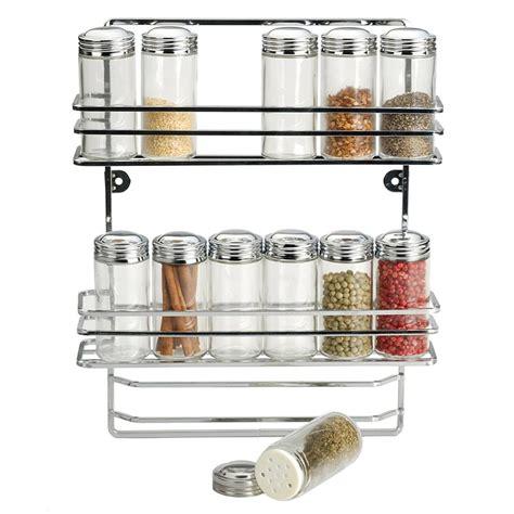 Hanging Spice Rack With Spices Rsvp Endurance Hanging Spice Rack 12 Bottle Set