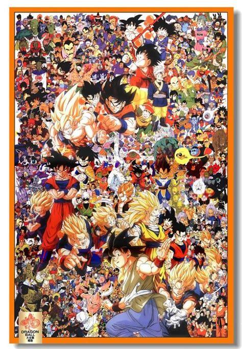 dragon ball z wallpaper mural aliexpress com buy custom canvas art dragon ball poster