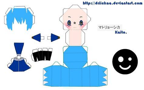 matryoshka kaito papercraft by driickaa on deviantart