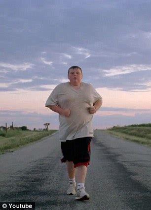 find your greatness advert: story behind 200lb jogging boy