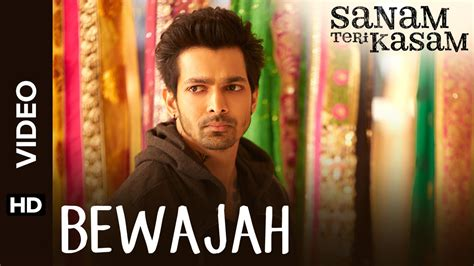 full hd video song bewajah full hd video song sanam teri kasam
