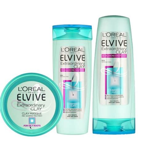 Harga L Oreal Elvive Extraordinary l oreal elvive extraordinary clay range review