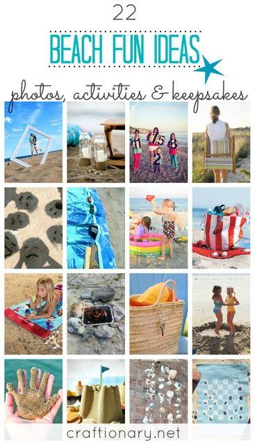 strandbilder ideen craftionary