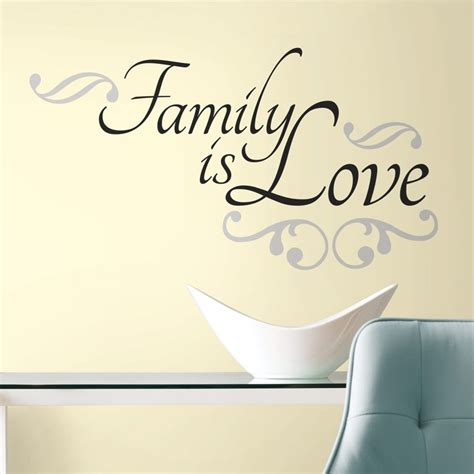 home decor stickers wall new family is wall decals black room stickers room