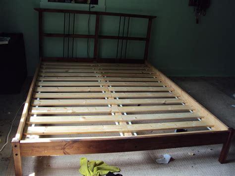 Ikea Bed Frame Slats Ikea Size Pine Bed Frame Plus Slats Duncan Cowichan