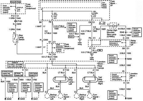 2004 Chevy Silverado Brake Lights Automotive Wiring And