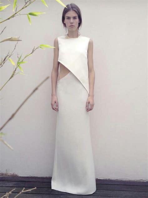 Minimal Dress best 25 minimal white dress ideas on s