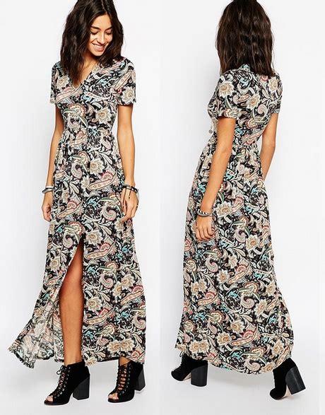 vestiti con i fiori vestiti lunghi fiori