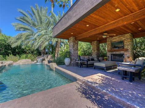 acre lot  pool ramada outdoor fireplace