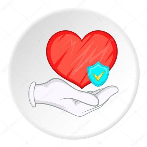 imagenes motivadoras de salud icono de protecci 243 n de salud estilo de dibujos animados