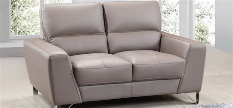 Sofa Vantage vantage 3 seater grey leather sofa