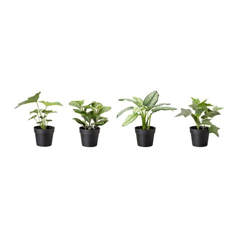 tiny potted plants fejka topfpflanze