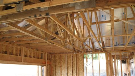 garage roof framing modifications  storage  rafter