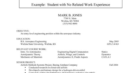 Mba Colleges With 2 Years Work Experience by College Student Resume Template No Experience Best