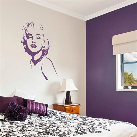 marilyn stickers for walls marilyn wall stickers www imgkid the image
