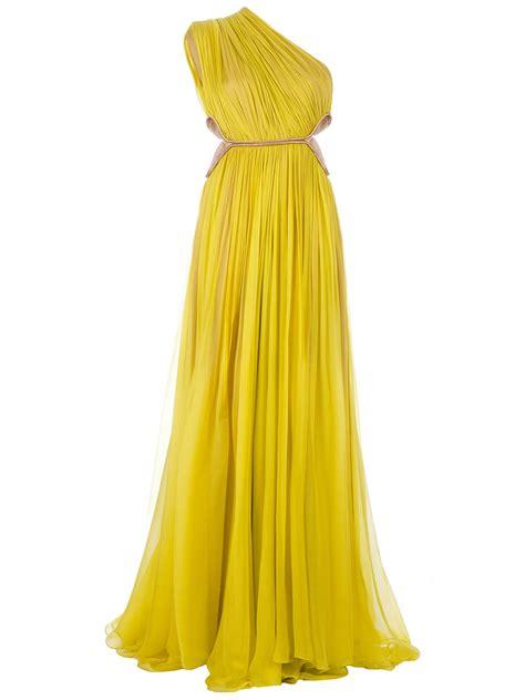 Keshia Dress Yellow lucia hohan keisha dress in yellow lyst