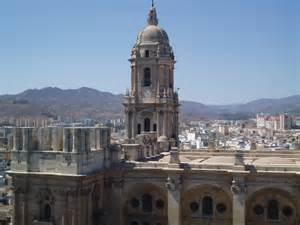 Victorian Houses malaga spain la manquita cathedral bell tower