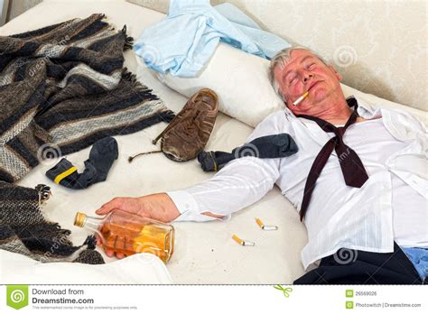 what does bed mean messy bed with drunken alcoholic royalty free stock image