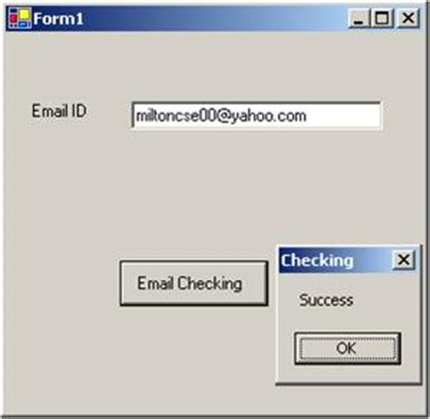 email validation pattern matching in java email id validation codeproject