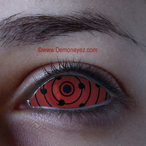 ten tails red sclera halloween contact lenses for all eyes