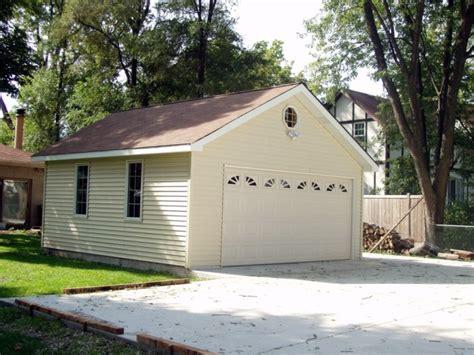 Gable Roof Garage Regency Garages Chicago Garage Builder Garage