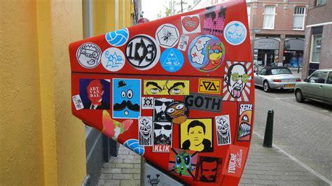 street art stickers combo den haag