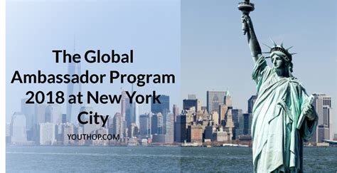 Finance Mba Leadership Development Program Summer Intern 2018 by The Global Ambassador Program 2018 At New York Youth