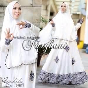Model Busana Syari Terbaru busana muslim model gamis modern terbaru syabila farghani