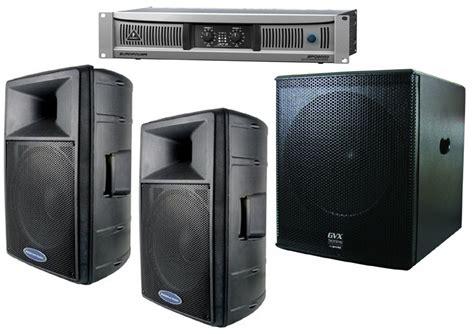 Speaker Subwoofer American behringer pro audio dj epq2000 rack mount 2000 watt power lifier 2 american audio dls 15