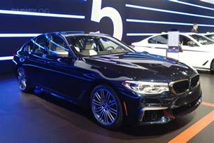 fastest bmw 5 series comes to new york auto show i