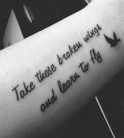 tattoo quotes about experience 20 meaningful tattoo quotes and sayings tattoos