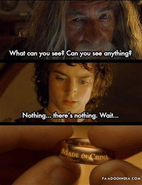 chinese film quotes lord of the rings quotes funny lord of the rings made