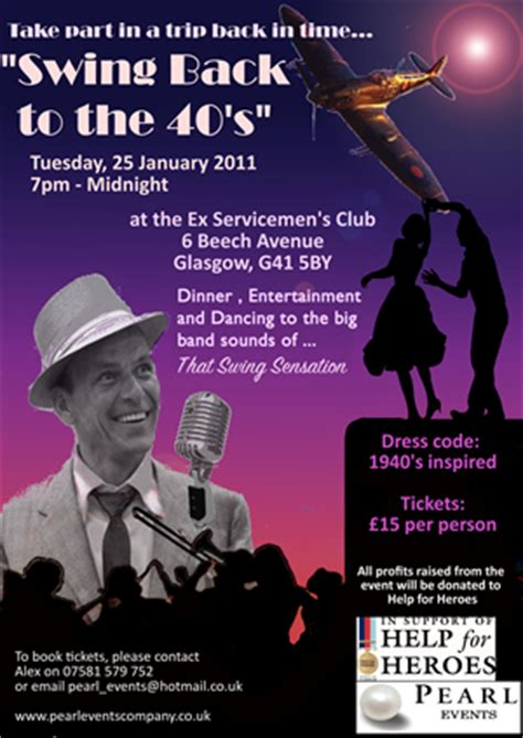 swing club glasgow 1940s swing jazz big band swing glasgow edinburgh perth