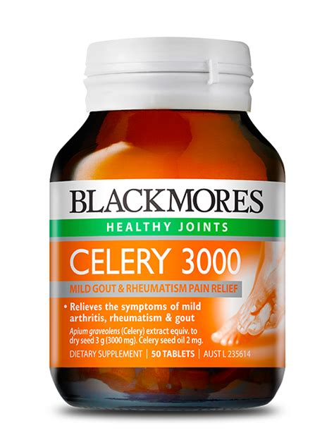 Blackmores Celery 3000 50 Tablet vitamins and multivitamins supplements from