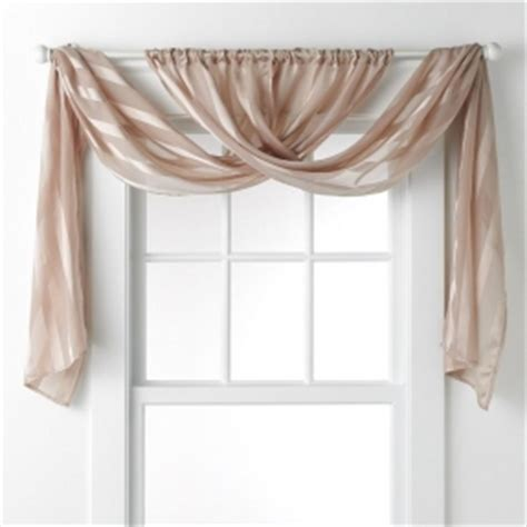 draping fabric over curtain rod curtain and valance foter