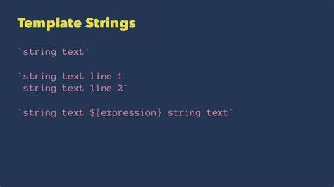 es6 template strings 覚醒javascript es6で作るisomophicアプリケーション