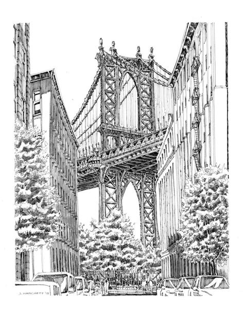 Sketches New York by Drawing Of New York City Sketches Of City Nyc