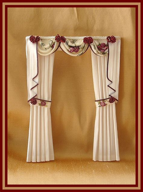 doll house curtains 107 best dollhouse miniature curtains images on pinterest doll houses dollhouse