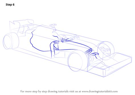 Learn How To Draw F1 Car Sports Cars Step By Step