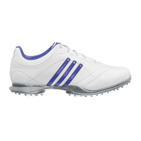 adidas 2012 signature natalie 2 0 womens golf shoes white violet metallic silver at