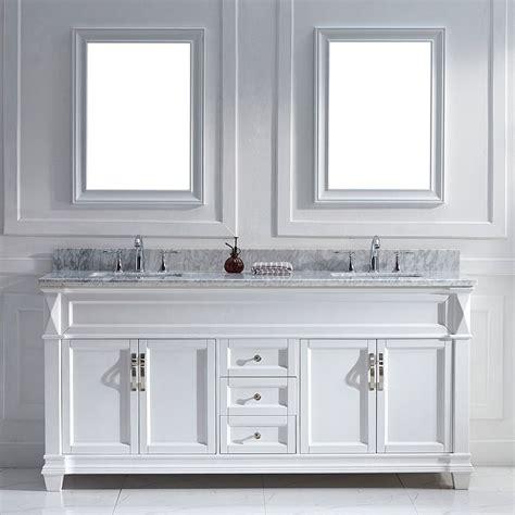 White Vanity Sink by Virtu Usa 72 Inch White Sink Vanity Set