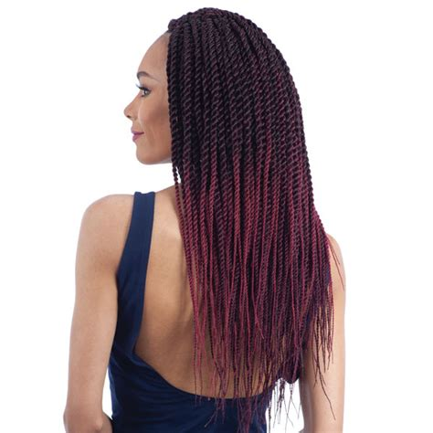 senegalese twist hair brand glance synthetic braid natural finished senegalese twist