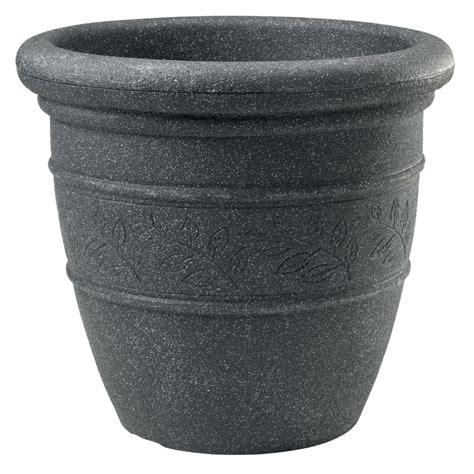 Granite Planters by Sylvan Granite Effect Bell Pot Garden Planter 48cm 163 19
