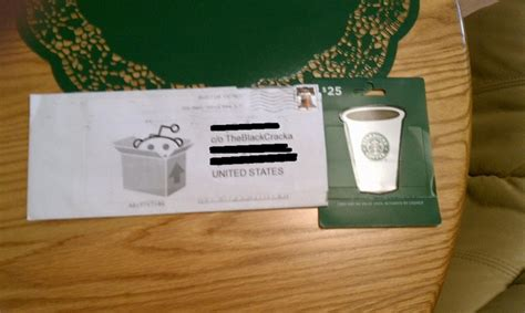 Starbucks Gift Card 25 - 25 starbucks gift card r snackexchange 2011 redditgifts