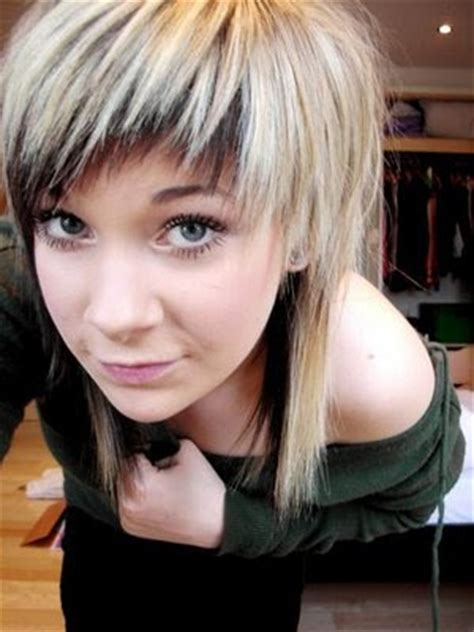 two layer haircut for girls windy hairstyle short layered hairstyles for round faces