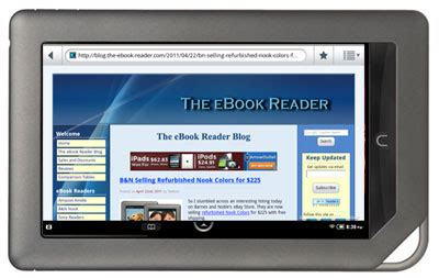 review: nook color with android 2.2, nook appstore, new